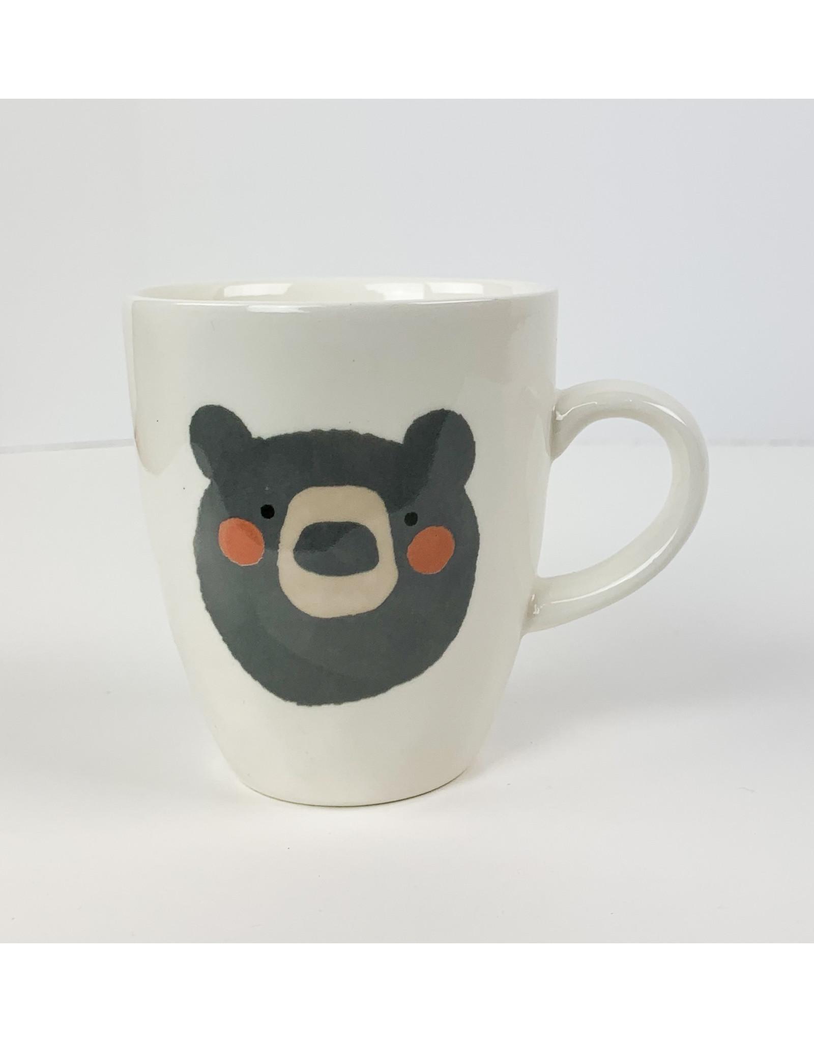 Creative Co-Op Bear Mug