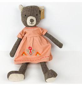 Creative Co-Op Poly Plush Bear