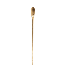 Creative Co-Op Brass Cocktail Spoon
