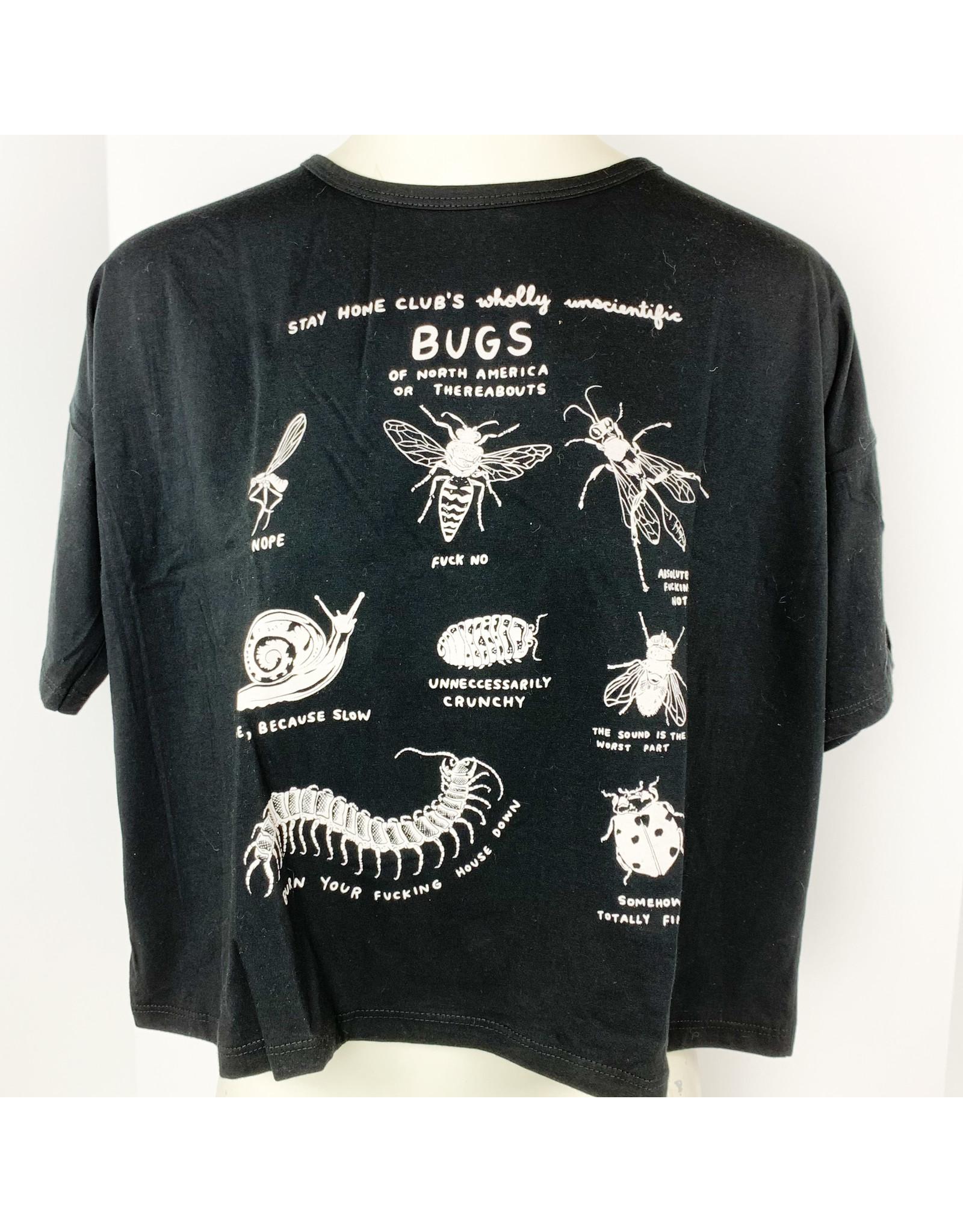 Stay Home Club Loose Tee Bugs