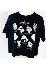 Stay Home Club Loose Tee Dogs Feeling Things
