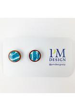 PM Design - Consignment Stud - Blue Trio Consignment