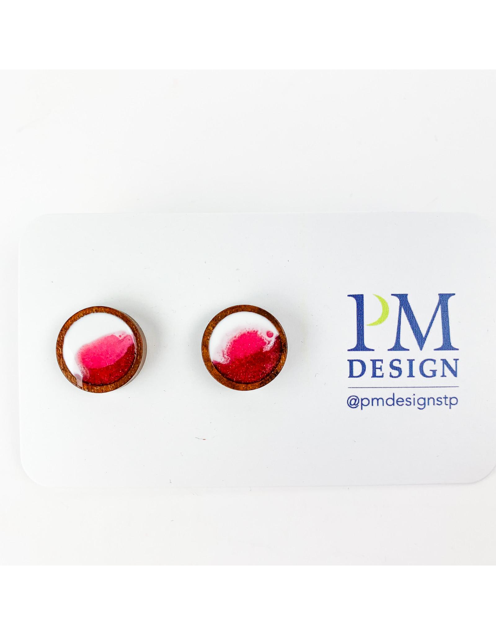 PM Design - Consignment Stud - Pink Blob Consignment