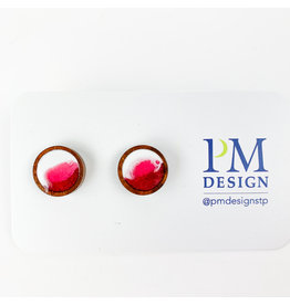 PM Design - Consignment Stud - Pink Blob Consignment