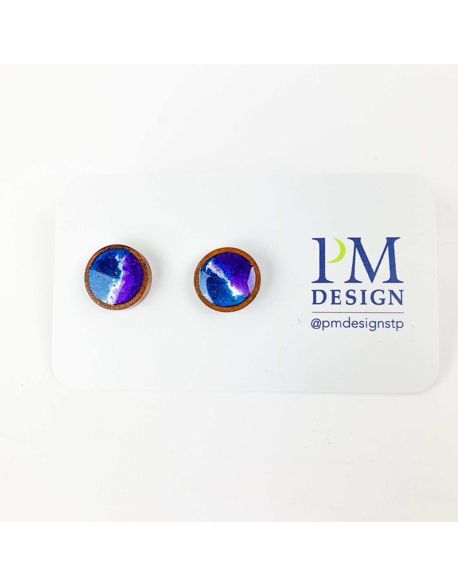 PM Design - Consignment Stud - Purple Split Consignment
