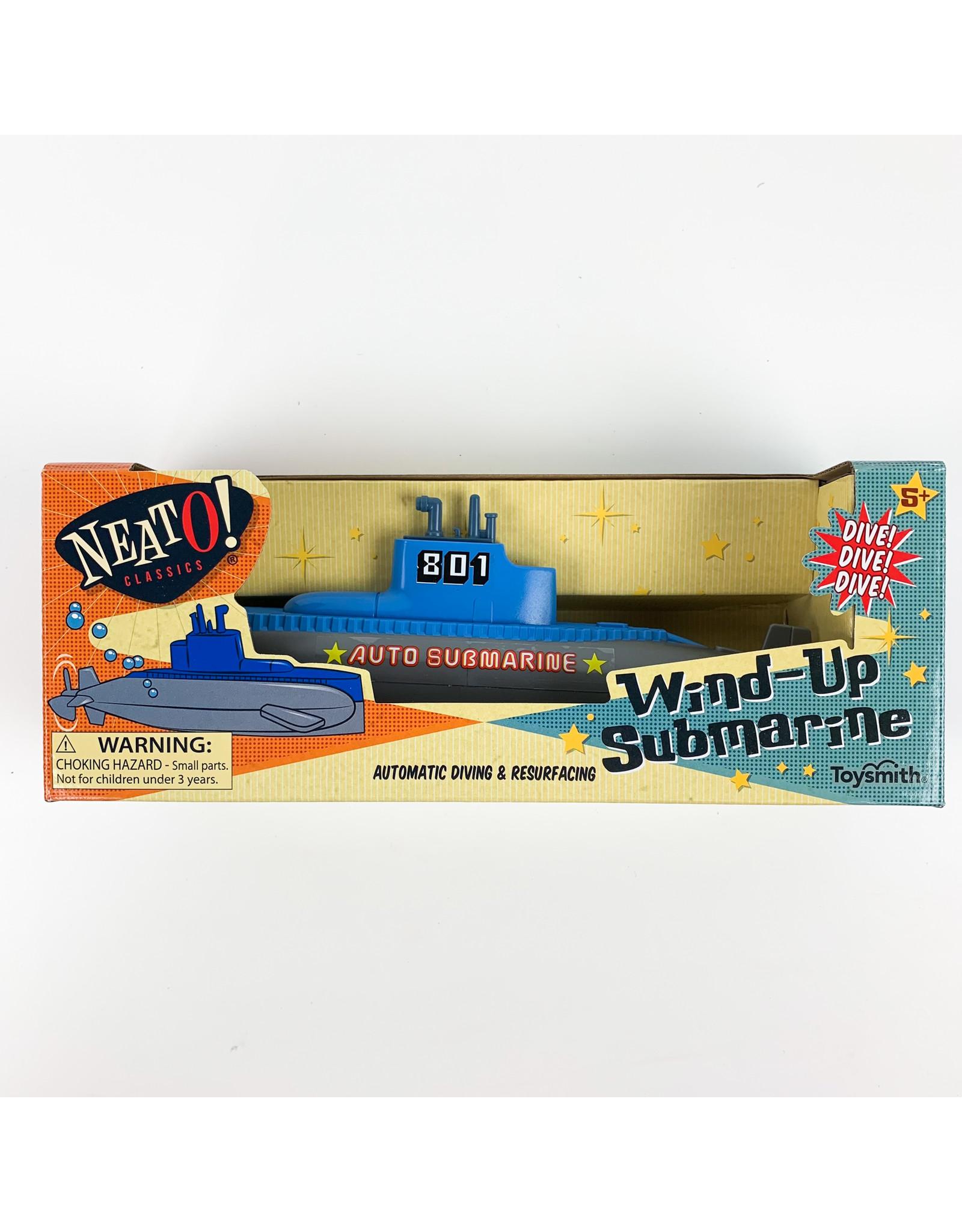 Submarine wind up