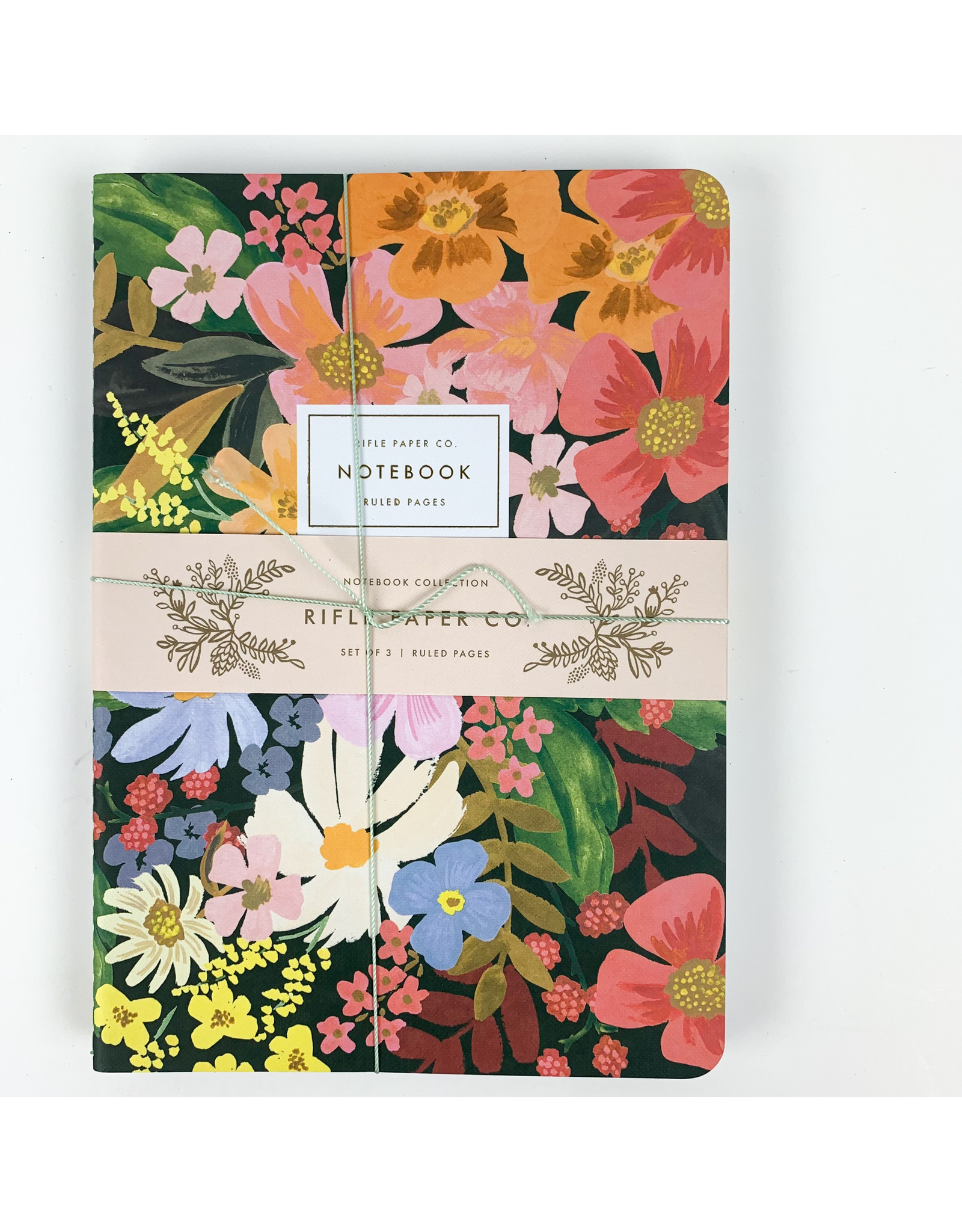 Rifle Margeurite Stitched Notebook Set 3