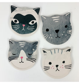 Now Designs Cats  Meow Coaster