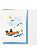 Iconic Quill Shop Fishing Canoe