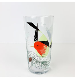 Charley Harper Art Studio Charley Harper Bird and Pine Cone Glasses