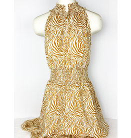 THML Zebra Print Smock Dress