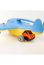 green toy Cargo Plane