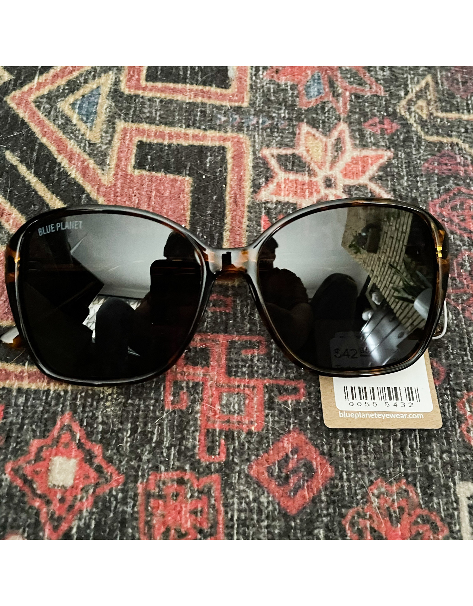 Blue Planet Sunglasses Althea Honey Tortoise