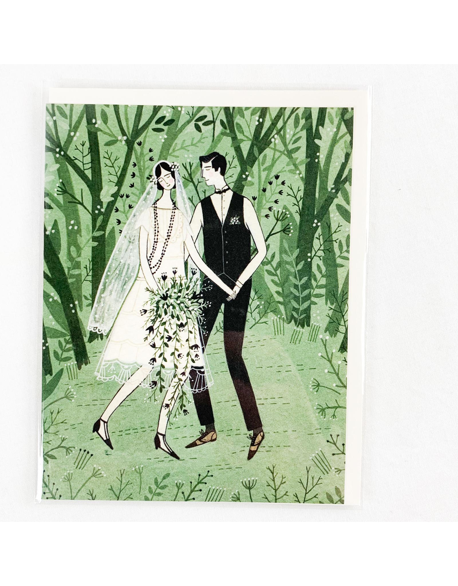 Red Cap Cards Man & Wife wedding