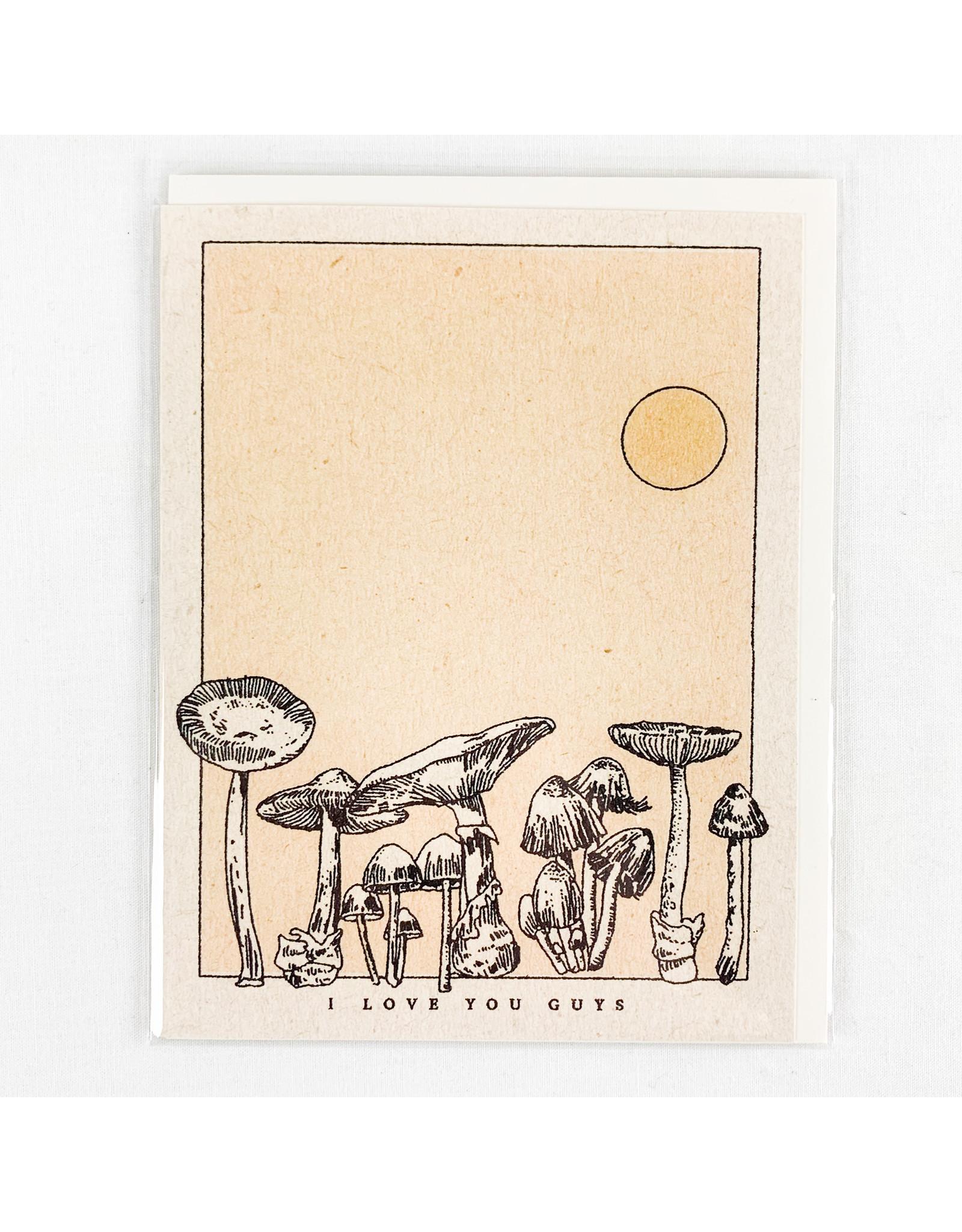 Red Cap Cards Mushroom Love