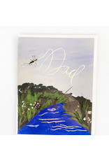 Red Cap Cards Fish Dad Father's Day
