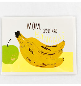 Red Cap Cards You Are Bananas Mothers Day