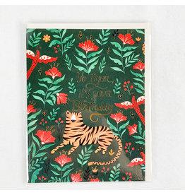 Red Cap Cards Tiger Birthday