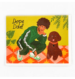 Red Cap Cards Dope Dad Father's Day