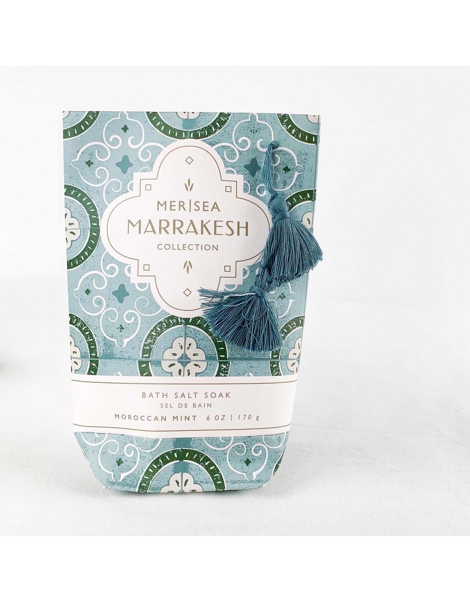 Mer Sea Moraccan Mint bath Soak