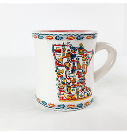 One Hundred 80 Degrees MN Mug Stoneware