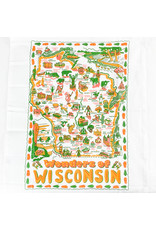 Keep the Faye Wisconsin Dishtowel