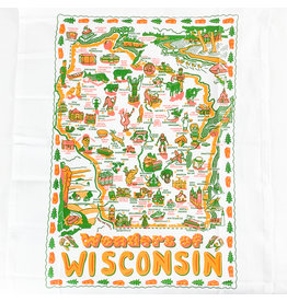 Keep the Faye Wisconsin Dishtowel