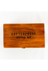Peter Pauper Press Studio Series Letterpress Stamp Set