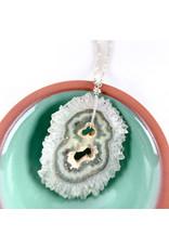 Quartz Statactite necklace #2-Consignment NC272