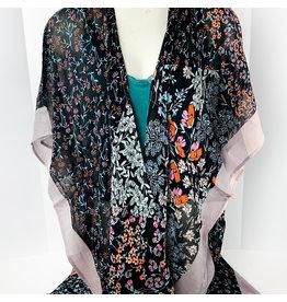 Flowers w/pink Kimono