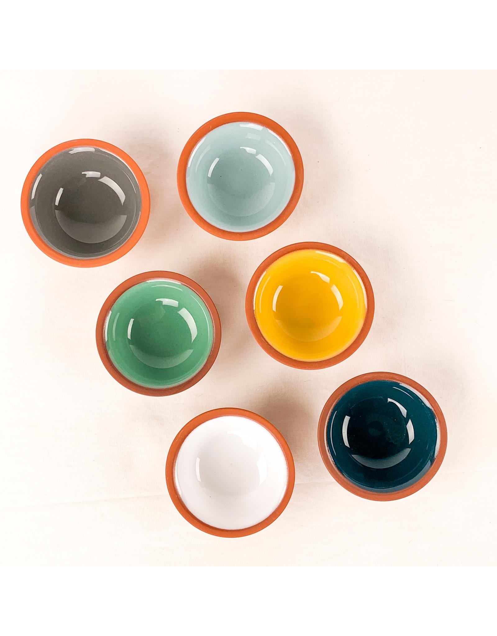 Now Designs Terracotta Pinch Bowl Gray