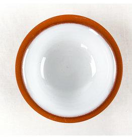 Now Designs Terracotta Pinch Bowl White