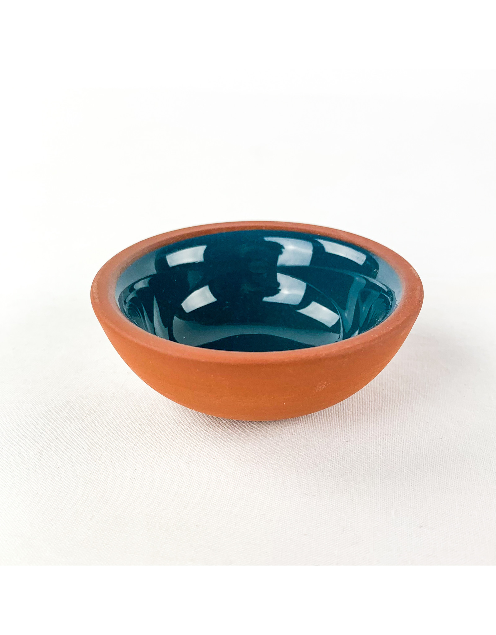 Now Designs Terracotta Pinch Bowl Teal