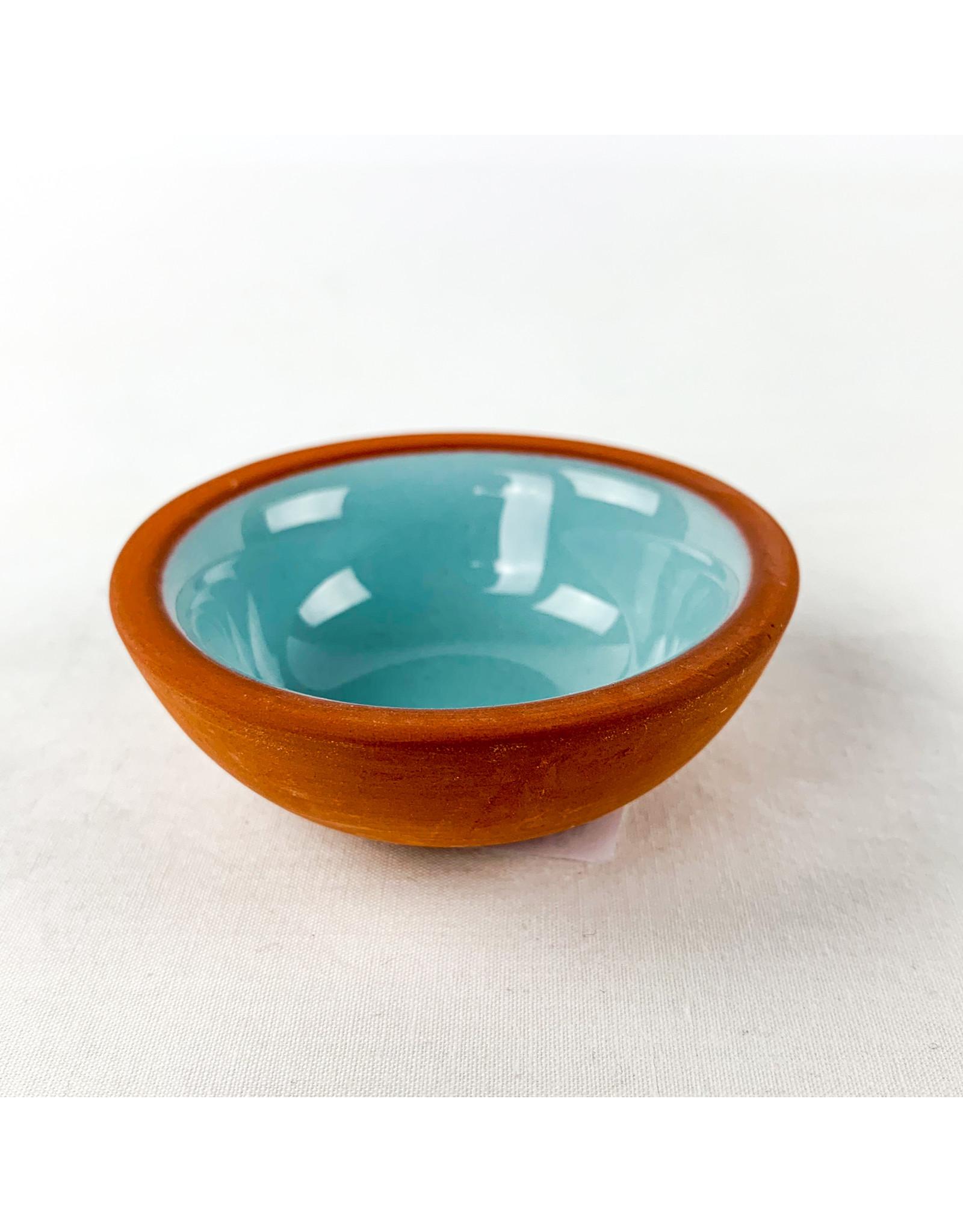 Now Designs Terracotta Pinch Bowl Lite Blue