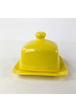 Now Designs Butter Dish Yellow