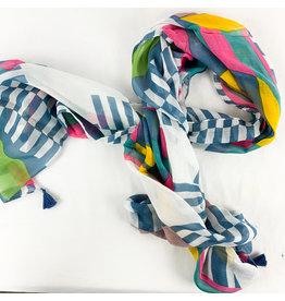 Stripe color patches-blue