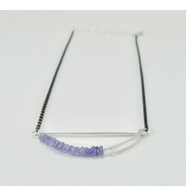 Bridget Clark - Consignment N1561 Sterling Stone Sling - Tanzanite