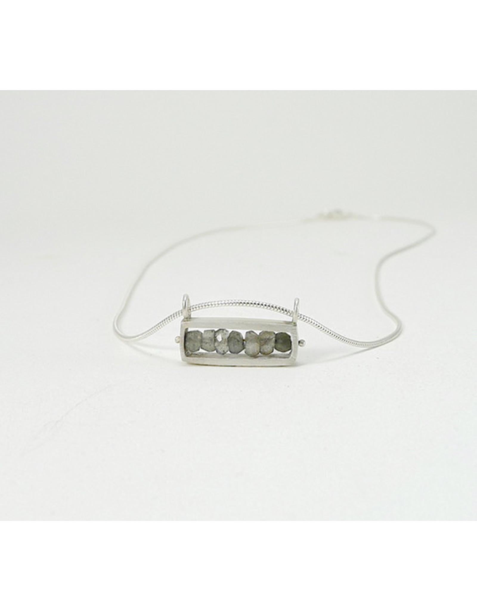 Bridget Clark - Consignment N0172 Sterling Rectangle - Labradorite