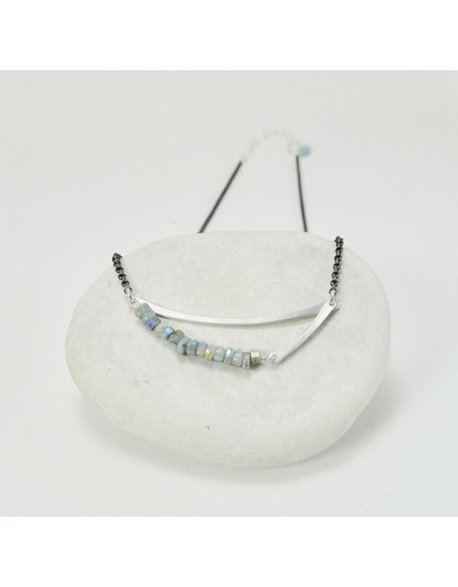 Bridget Clark - Consignment N1561 Sterling Stone Sling - Chrysocola