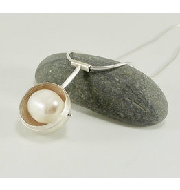 Bridget Clark - Consignment N1431 Sterling Orb with Pearl