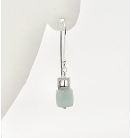 Bridget Clark - Consignment E1230 Sterling Cube and Chalcedony Cube