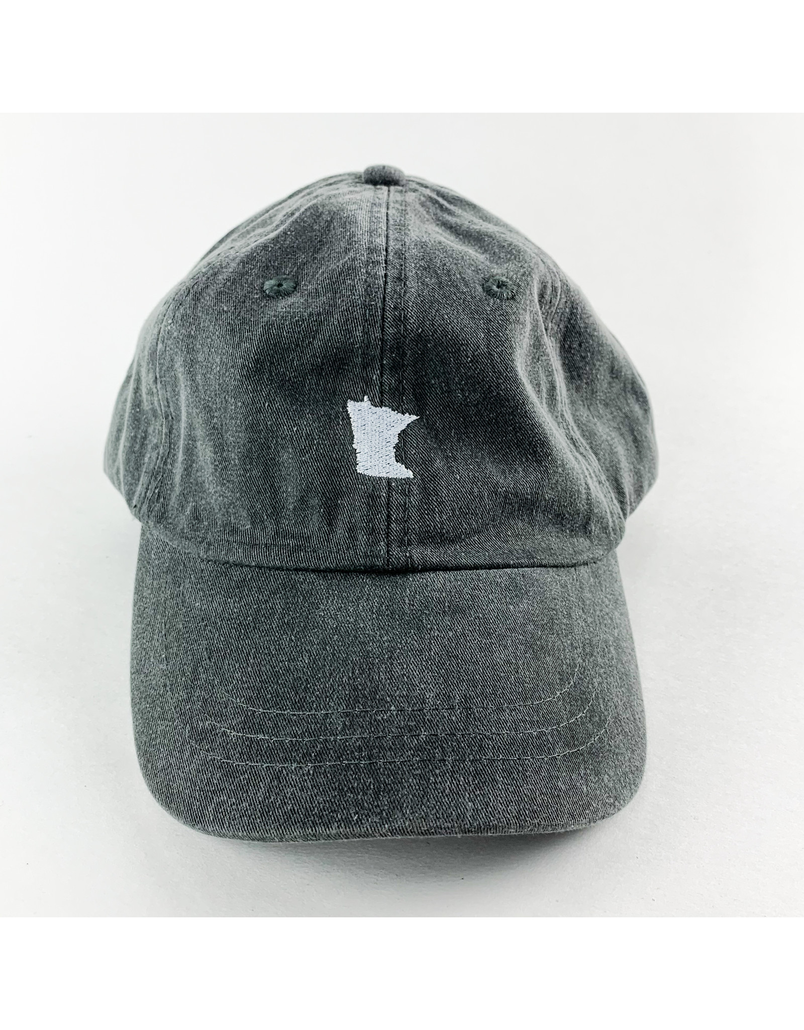 Mill City Made LLC MN Hat Charcoal