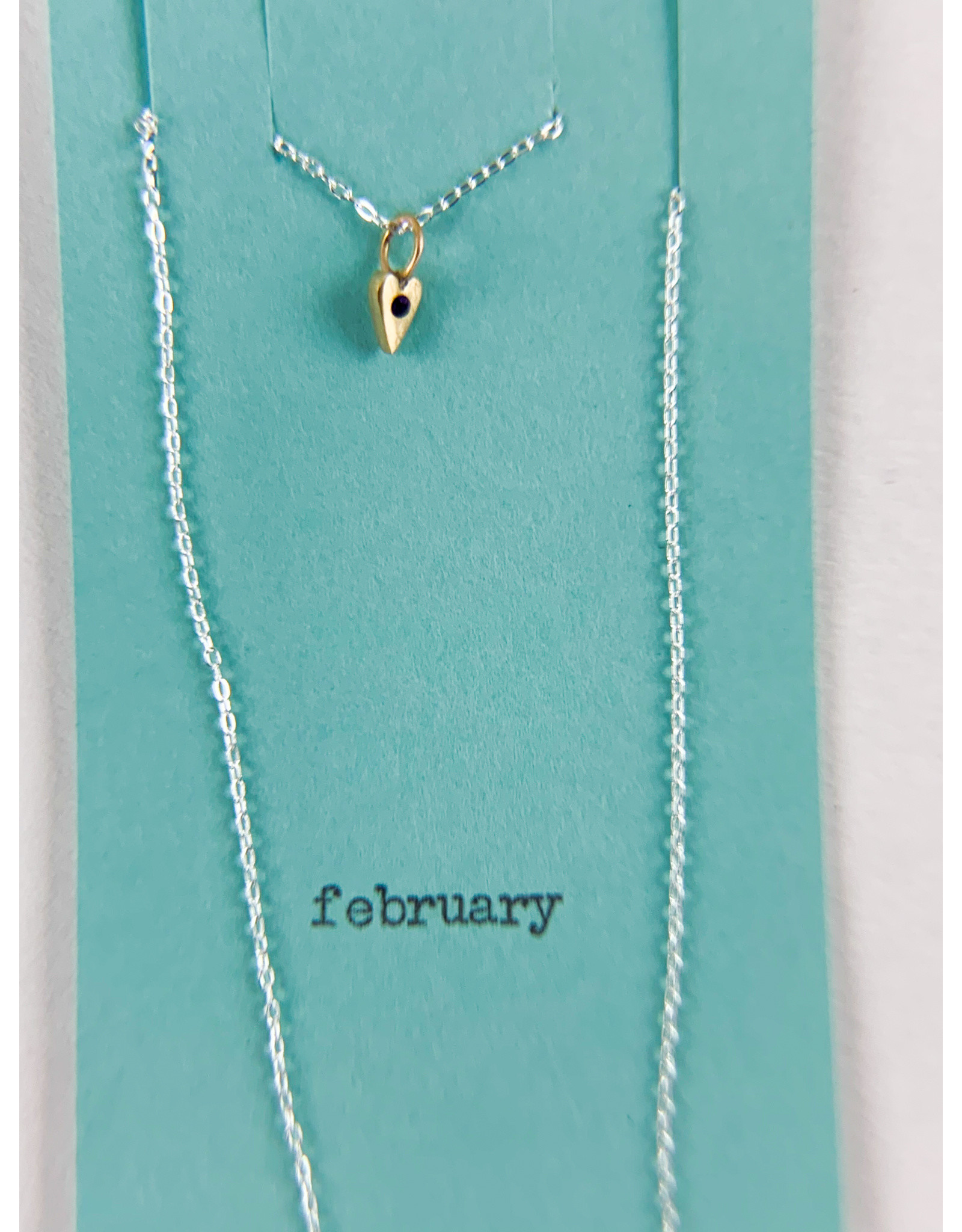 penny larsen February Necklace /Amethyst