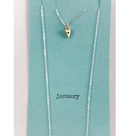 penny larsen January Necklace/Garnet