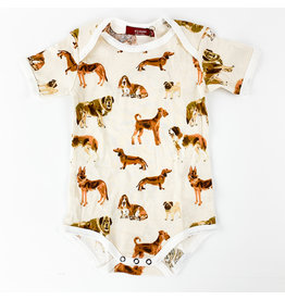 Natural Dog 6-12 mth. Onesies