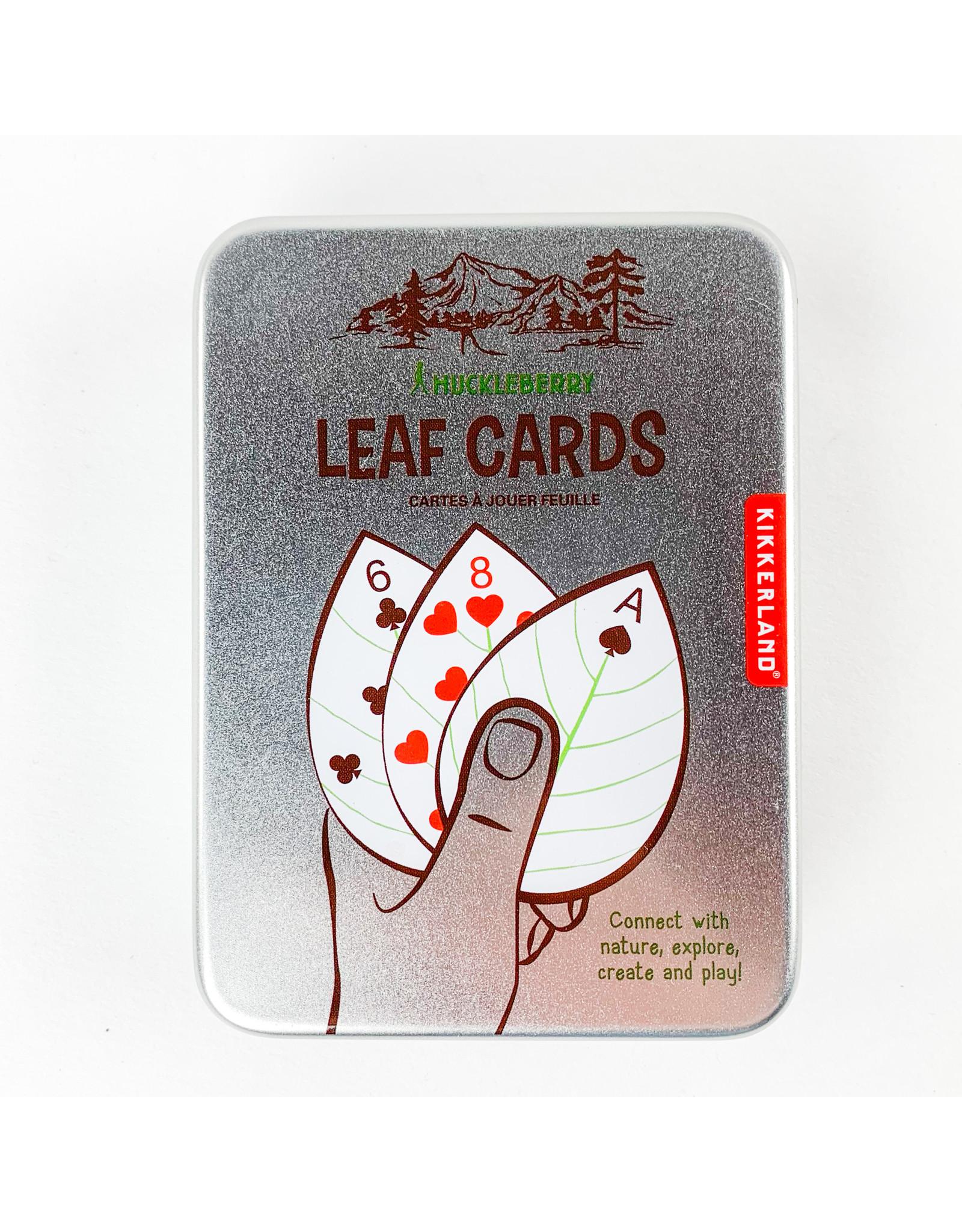 Kikkerland Leaf Cards