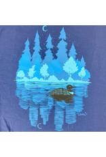 Truman Merch Co MN Loon T-Shirt (Navy) XL