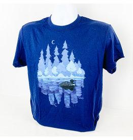 Truman Merch Co MN Loon T-Shirt (Navy) Medium