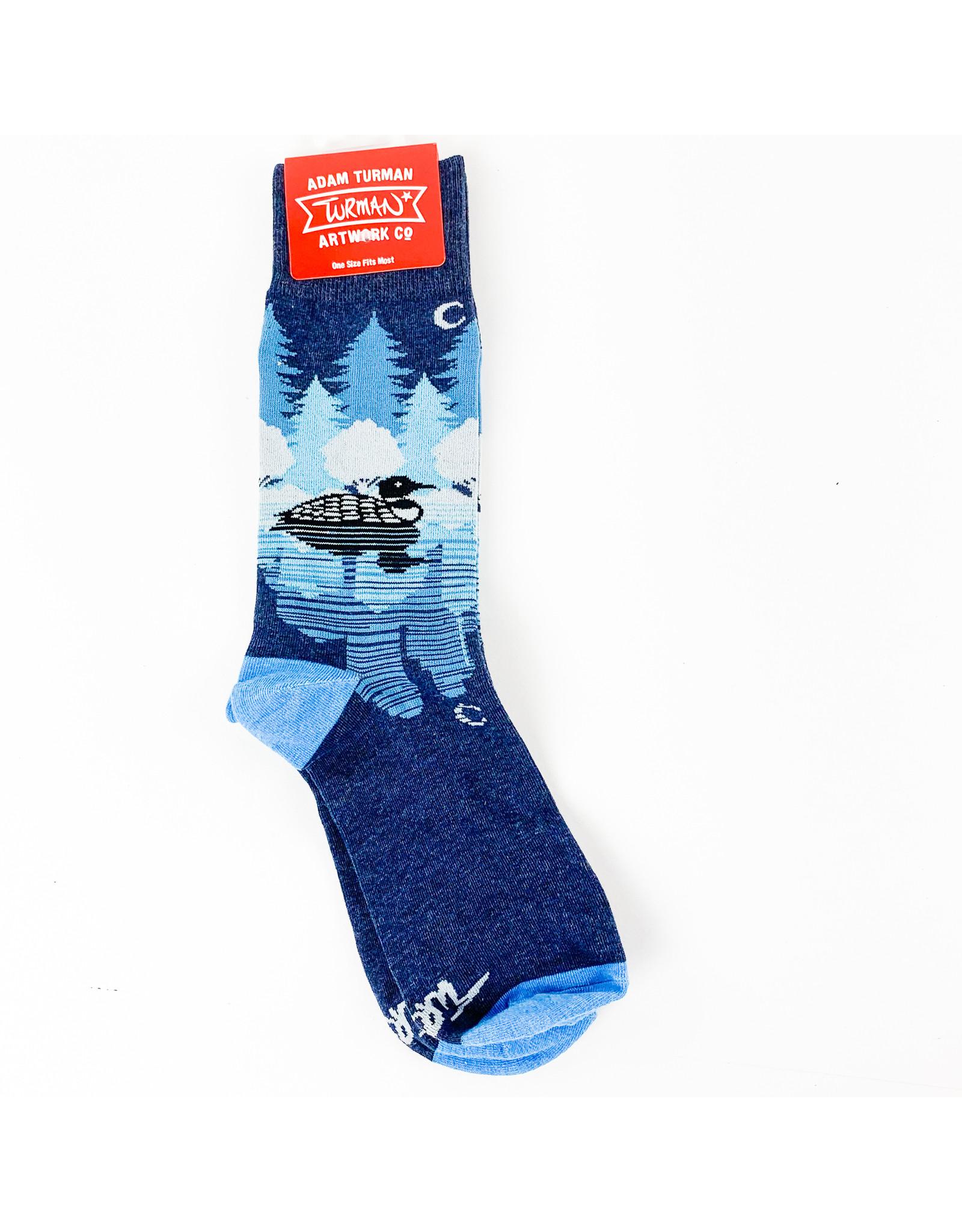 Truman Merch Co Midnight Loon Socks