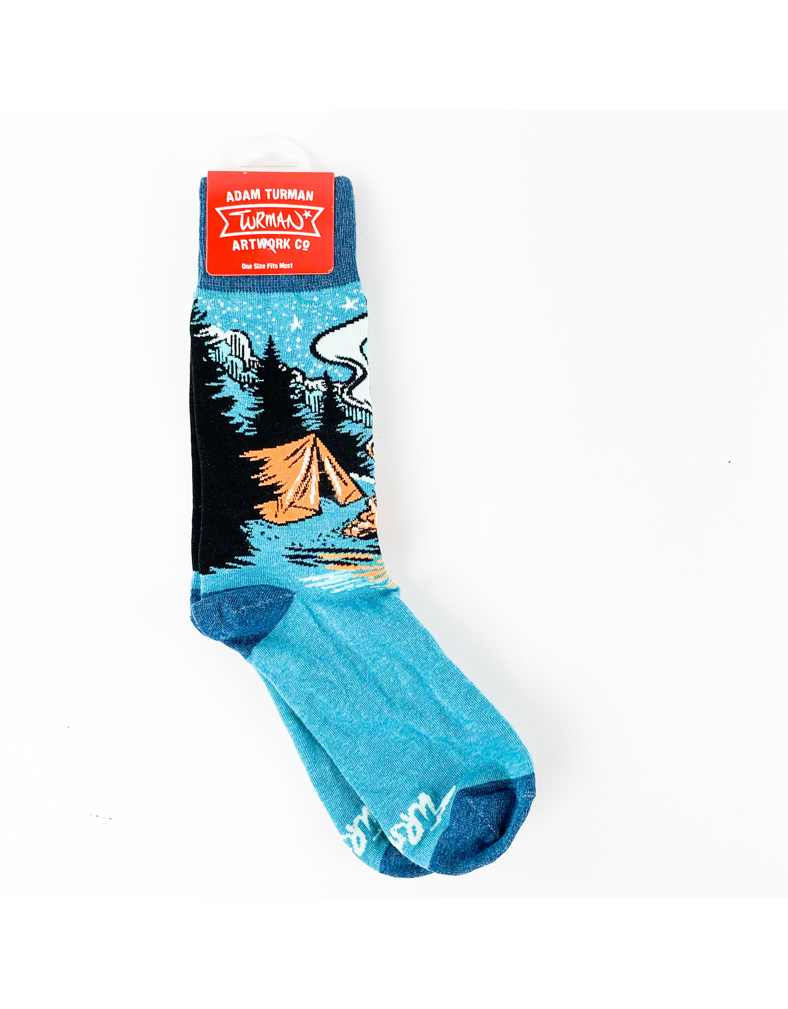 Truman Merch Co Campfire Socks